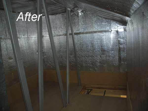 After - Dust Proof / Storage Rooms