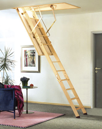 Attic Ladders - Easy Access To Your Roof Space